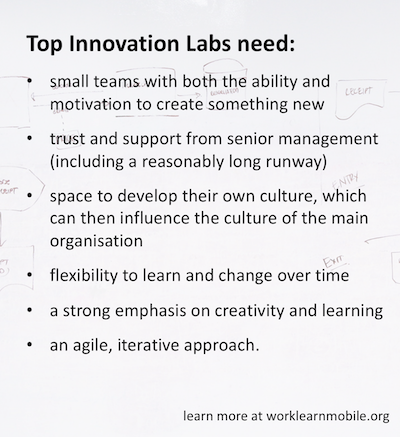 list of key innovation traits